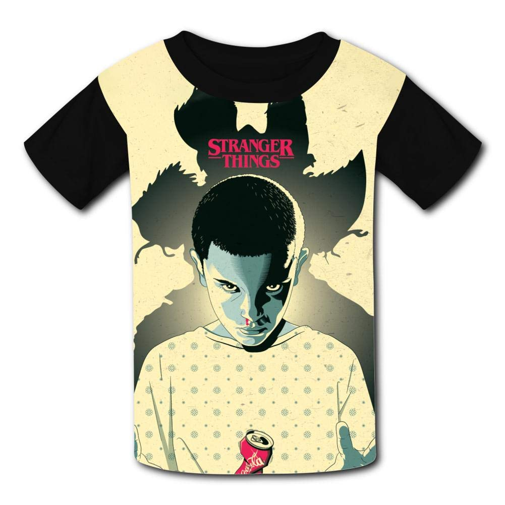 S-tranger-Thing-s Demo-Gorgon 011 Kids T-Shirts Short Sleeve Tees Summer Tops for Youth//Boys//Girls