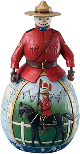 Enesco Jim Shore Heartwood Creek from Royal Canadian Mounted Police Figurine 9.25 in