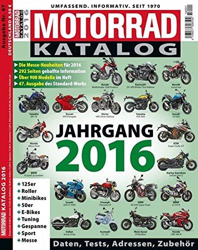 Motorrad Katalog 2016 9783613307988 Amazon Com Books
