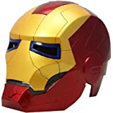 Anokhe Collections Marvel Openable Iron Man Cosplay Helmet (Red and Gold, Iron_man_902)