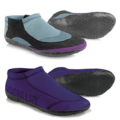 Women's Minimalist Shoes 2-Pair Collection (Size 6) Purple Amphibian & Purple G2