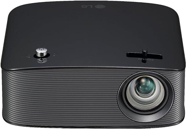 LG PH150B 720p Wireless LCOS Projector, Black (Renewed)