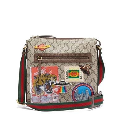 reputable site 98b62 f4270 Amazon | (グッチ) Gucci メンズ バッグ メッセンジャーバッグ ...