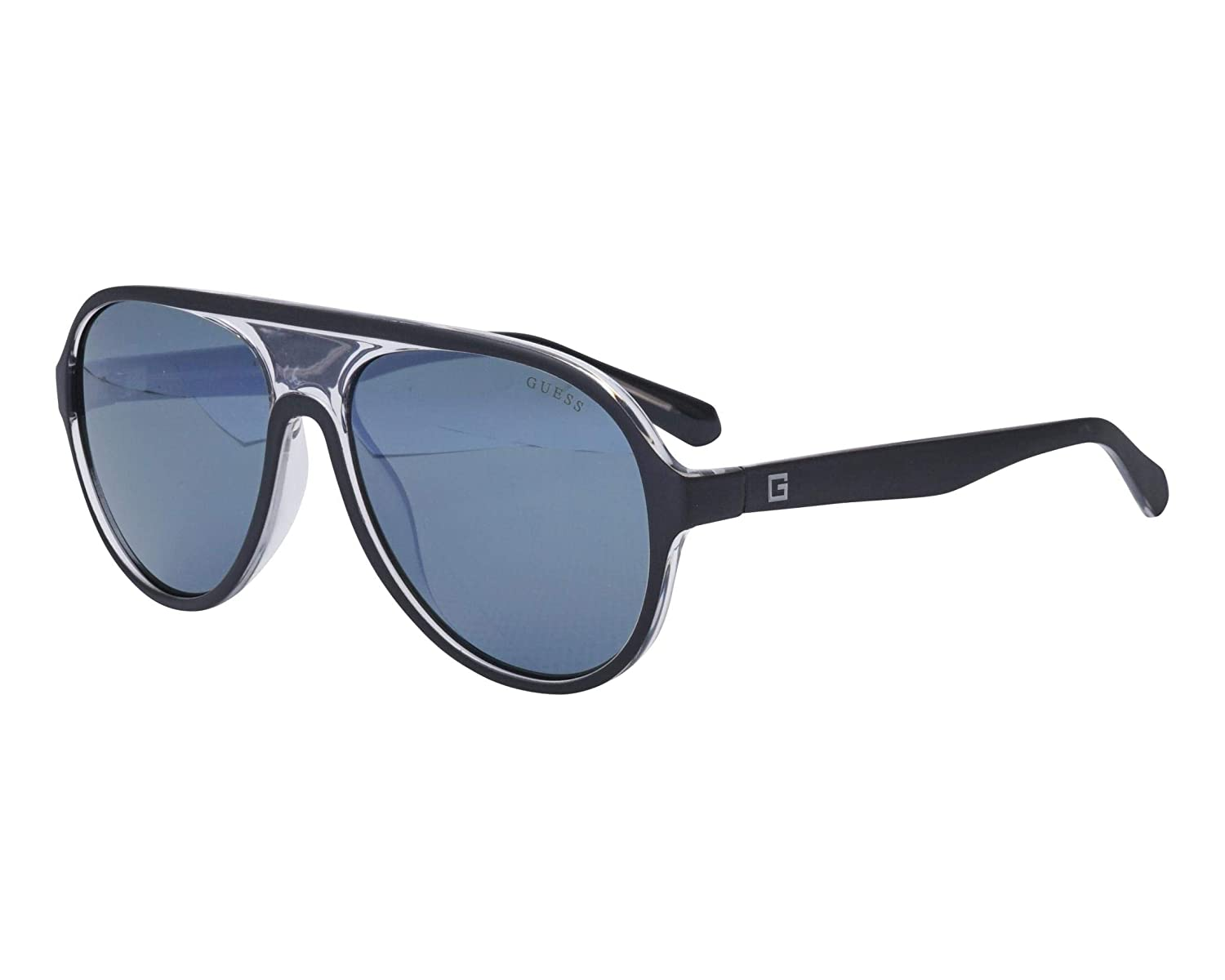 Amazon.com: Gafas de sol Guess (GU-6942 02C) negro mate ...