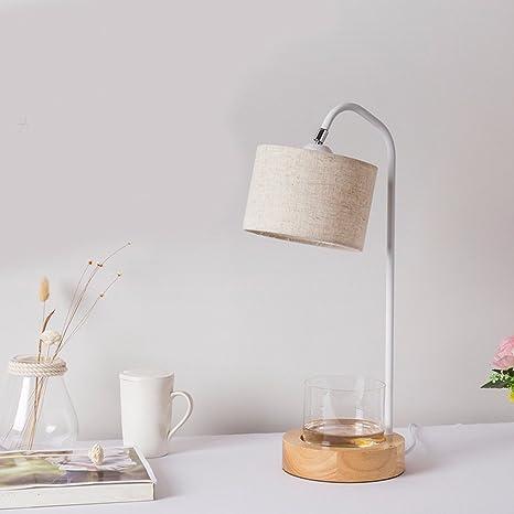 CJSHV-Lámpara de mesa Nordic Diseño Moderno Minimalista ...