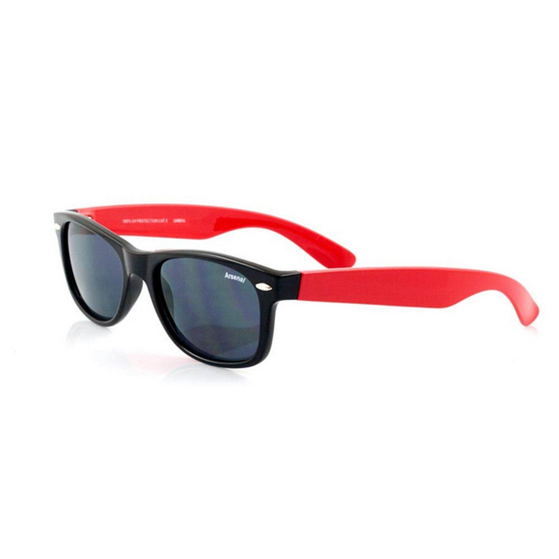 Arsenal FC Childrens/Teens Official Football Crest Wayfarer Sunglasses Arsenal F.C.