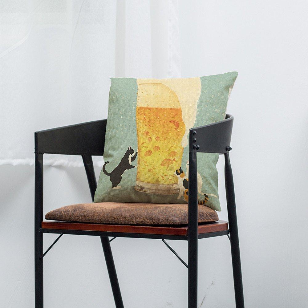 Weiliru Throw Pillow Covers Set Velvet Soft Soild Decorative Square Cushion Case for Sofa Bedroom Car 18 x 18 Inch
