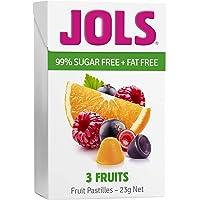 Jols 3 Fruits Fruit Pastilles 23g