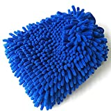 Car Wash Mitt, Kwock Quality Chenille Microfiber Premium Scratch-Free Highest Density Ultra-soft, Absorbent, Household Cleaning Gloves