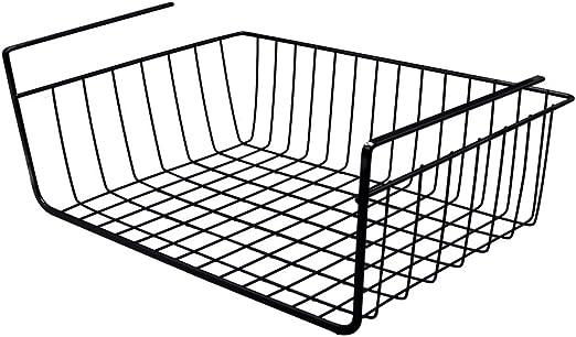 yontree – Cesto para colgar cesta bajo estantería mesa almacenaje ...