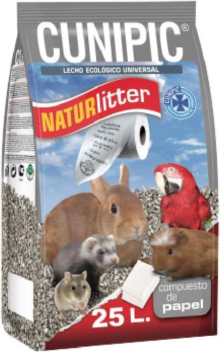 Cunipic NATPA25 Naturlitter Papel - 25 l