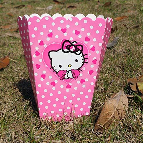 Flamingo Bonut Popcorn Cups 6 Pcs/set Cute Funny