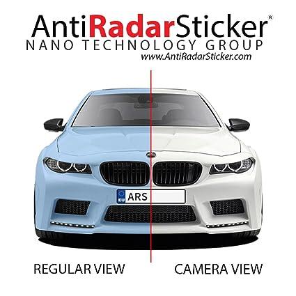 Anti Radar Sticker Radar anti etiqueta engomada anti Del radar para placas de matrícula de los vehículos - 7 pegatinas en un solo paquete - imagen ...