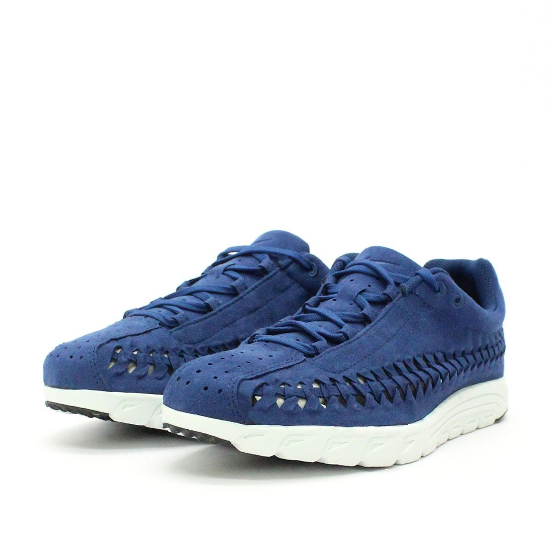 NIKE Men's Mayfly Woven Casual Shoe B01IOGFBX2 9.5 Black-off D(M) US|Coastal Blue / Black-off 9.5 White 42474f