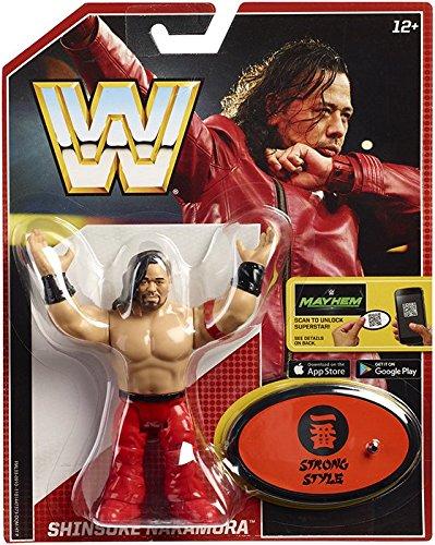 WWE Shinsuke Nakamura Retro App Action Figure by WWE