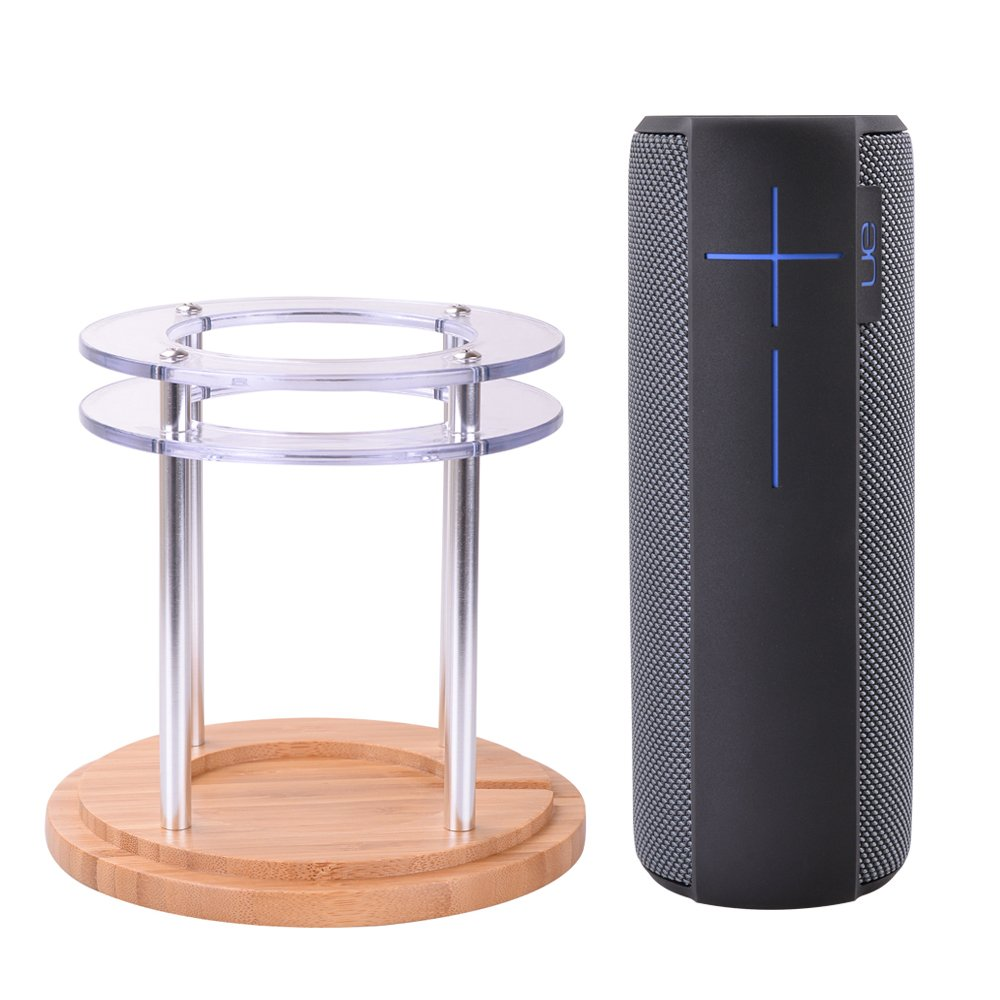 For UE MEGABOOM Speaker Stand, Acrylic Holder for UE MEGABOOM Wireless Mobile Bluetooth Speaker - Waterproof and Shockproof (Clear) Holaca