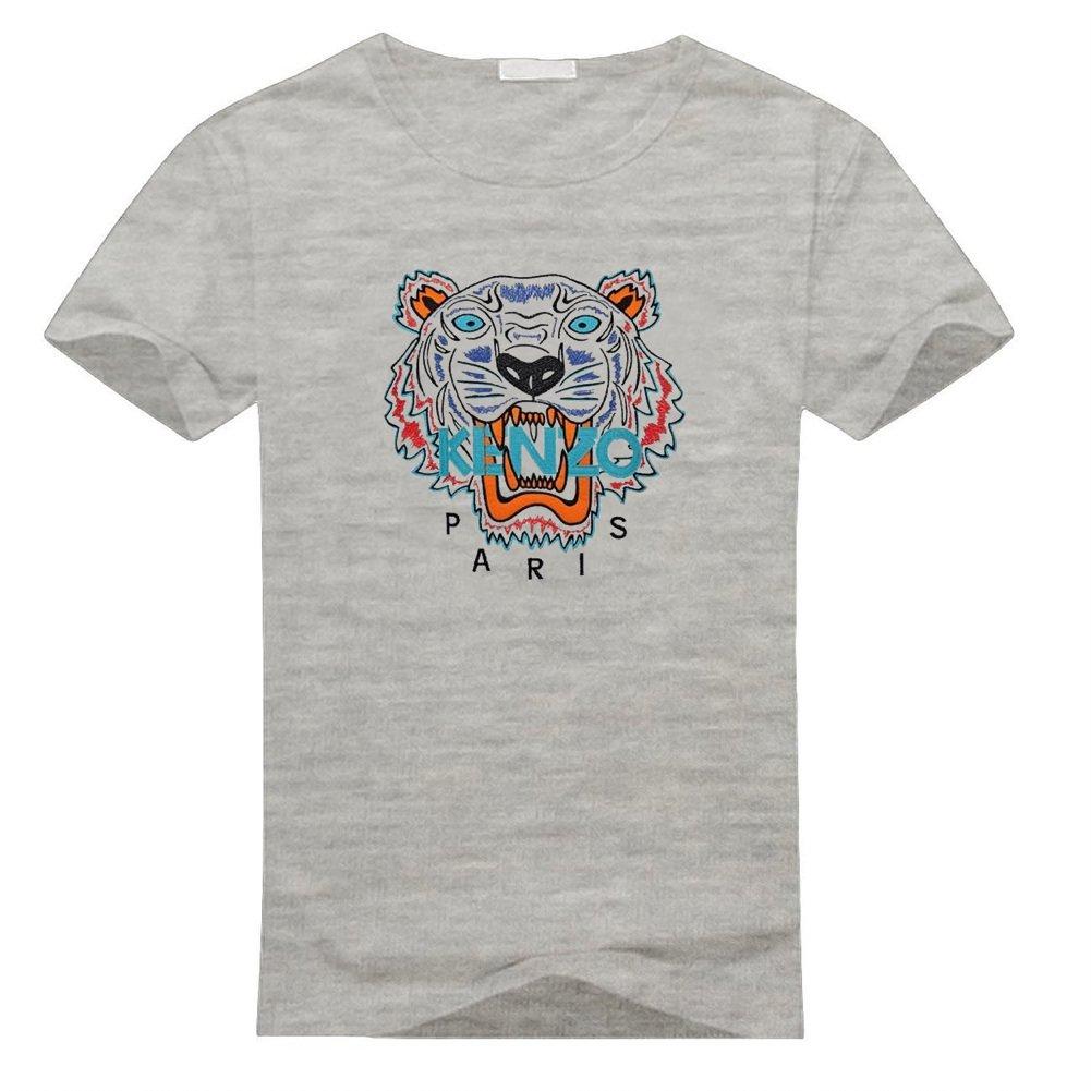2b01796a Amazon.com: Kenzo Paris Logo For Mens Printed Short Sleeve T-Shirt: Clothing