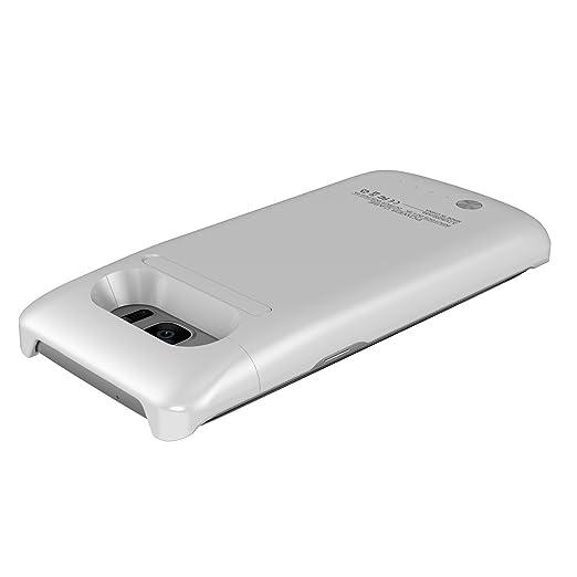 Amazon.com: Galaxy S7 Edge Protector Blanco con Batería ...