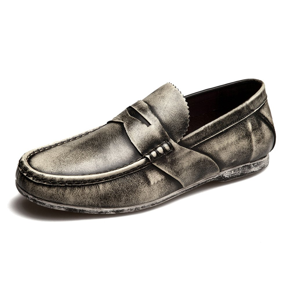 Men's Waterproof Penny Loafer for Casual Walking and Outdoor Activities - High Fashion M02-43Gy