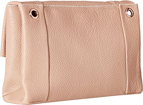 Ted BakerSMALL UNDERLINED FLAP CROSS BODY BAG - Parson donna pink_antique pink, pink