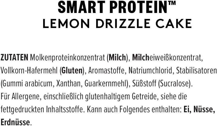 PhD Smart Whey Protein en Polvo Bizcocho de limón 900g