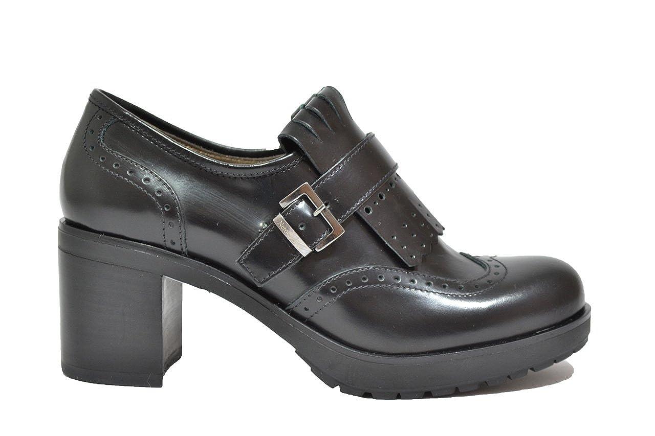 Nero Giardini Schuhe Damenschuhe francesine Pelle nera A616492D-100 -