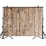 Allenjoy 5x3ft Polyester Gray Nature Aging Texture Wood Backdrop Antique Wooden Floor Photography Background Newborn Baby Shower Party Decoration Banner Photo Studio Props