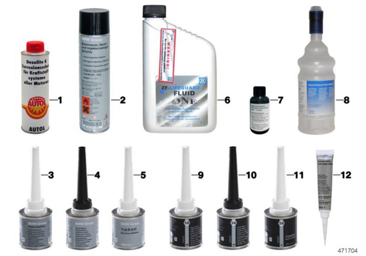 BMW Genuine Fuel Diesel Injector Cleaner Additive Treatment 100ml