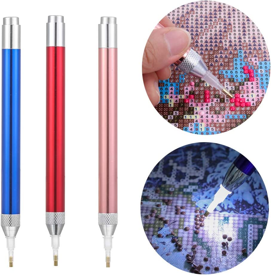 Diamond Painting Tool Point Drill Pen Lighting New Diamond Pens 5D Painting New