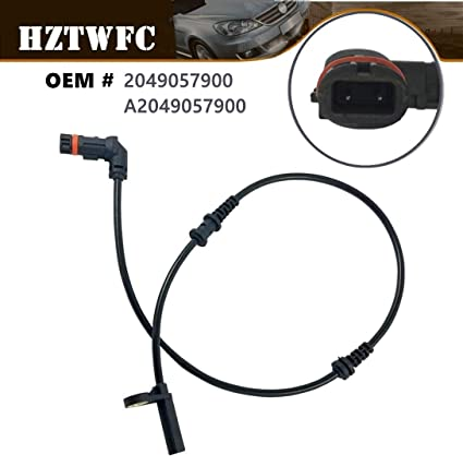 HZTWFC Front ABS Wheel Speed Sensor 2049057900 204 905 79 00 A2049057900 A204 905 79 00 Compatible for Mercedes Benz C CLASS S204 W204