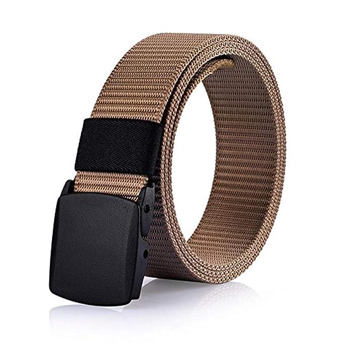 ampia selezione ineguagliabile nelle prestazioni vendita economica HX fashion Cintura Di Tela Da Uomo Uomo All'Aperto Liscia ...