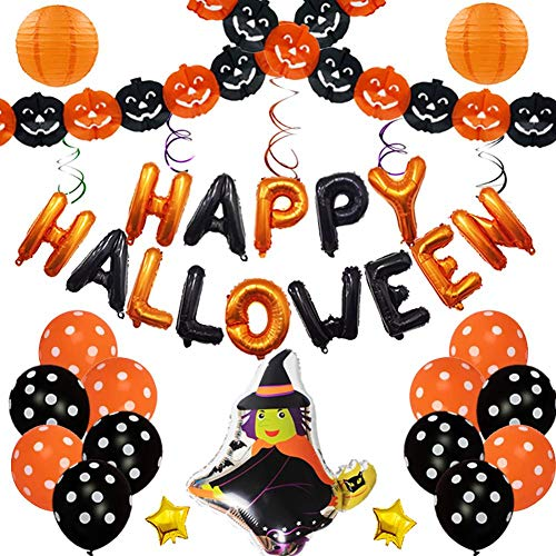 SeedWorld Ballons & Accessories - Happy Halloween Foil