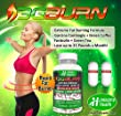 3G-BURN Extreme Fat Burner for Rapid Weight Loss - Pharmaceutical Grade Thermogenic Diet Pills Made with Garcinia Cambogia, Green Coffee, Forskolin and Green Tea. 120 Capsules.