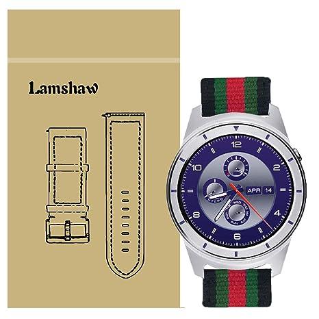 ZTE cuarzo reloj inteligente banda, lamshaw acero inoxidable Metal ...