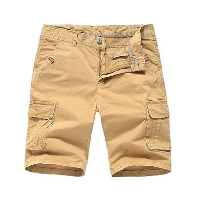Hombres Cargo Camo Bermudas Pantalones Cortos Pantalones Cortos ...