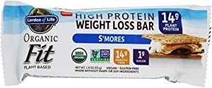 Garden Of Life, Fit Bar Smores Organic, 1.9 Ounce