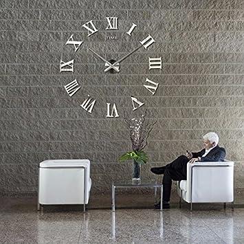 Design Wand Uhr Diy Große Wanduhr 3d Effekt Home Wandtattoo