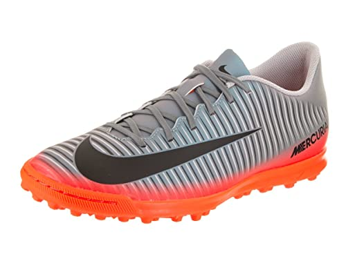on sale 7a7c6 1a54a Nike - Botas de fútbol de sintético para Hombre Gris Gris, Color Gris,  Talla 44,5 EU: Amazon.es: Zapatos y complementos
