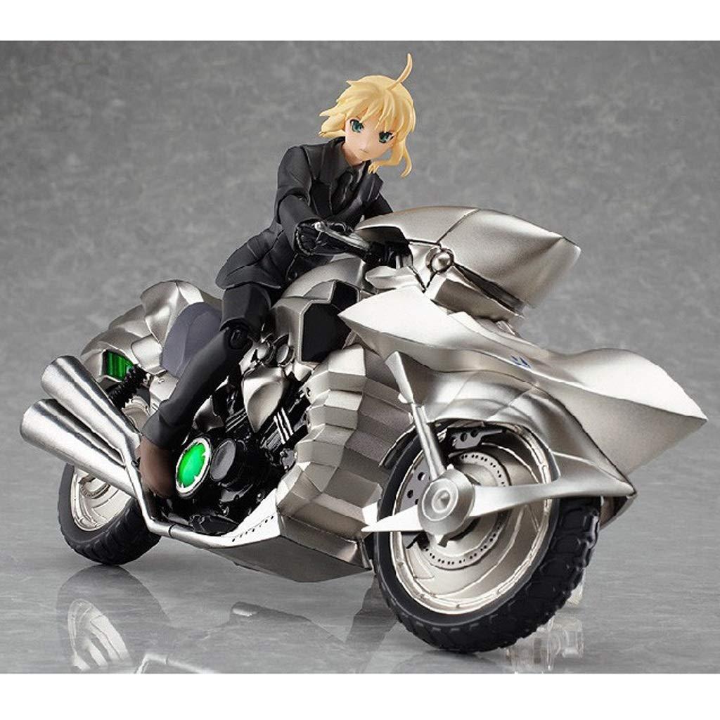 YIFNJCG Juguetes educativos Anime Modelo Edición Premium Traje Negro SEBA Figma Juego de Motos de Juguete Decoración de la Oficina en casa