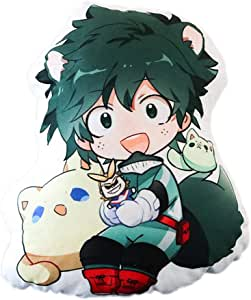 Anime Boku No Hero de Mikucos, cojín de felpa de muñeca de