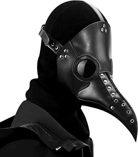 Máscara Estilo Gótico Steampunk FIZZENN