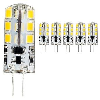 Bombilla LED G4 3.5 W, blanco cálido 2700 K Bombillas LED, ángulo de haz