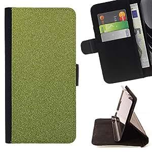 Momo Phone Case / Flip Funda de Cuero Case Cover - Textura floral verde - LG G3
