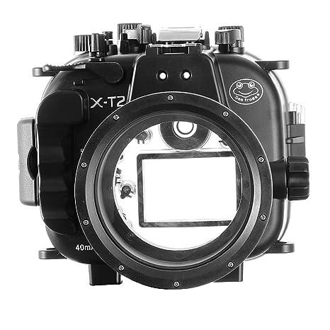 Funda Sumergible Sumergible para cámara Fujifilm Fuji X-T2 de 16 a ...
