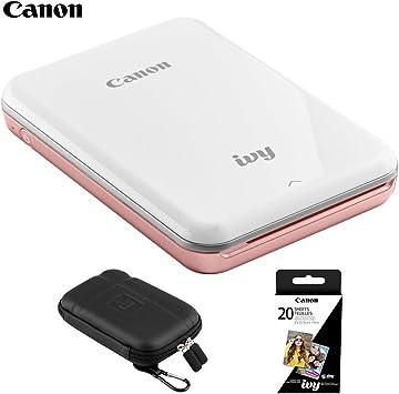 Canon Ivy Mini Mobile Photo Printer + Hard EVA Case 5