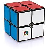 Findbetter 2S スピードキューブ2x2 競技向け 公式 ver.2.1 黒素体 世界基準配色 PVCシール こども 脳トレ 知育玩具 ポップ防止 回転スムーズ 50x50x50mm