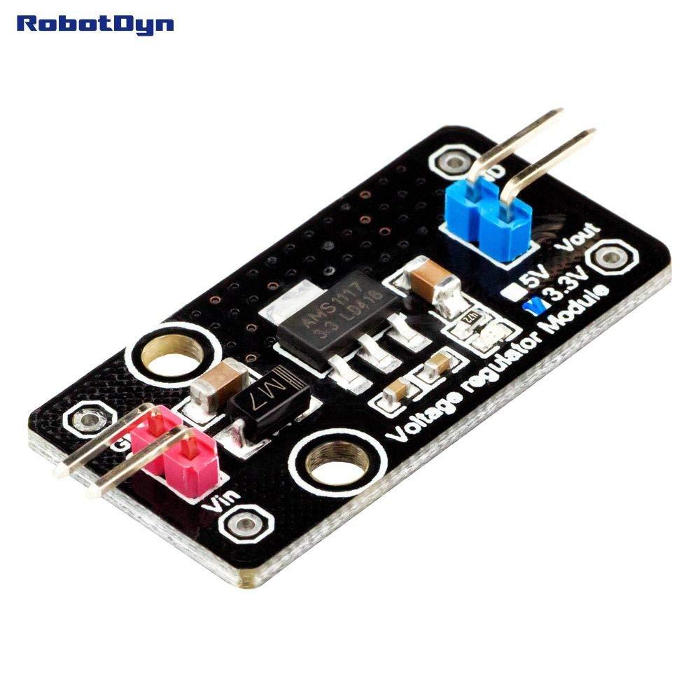 RobotDyn - Módulo regulador de voltaje DC-DC LDO 3.3V