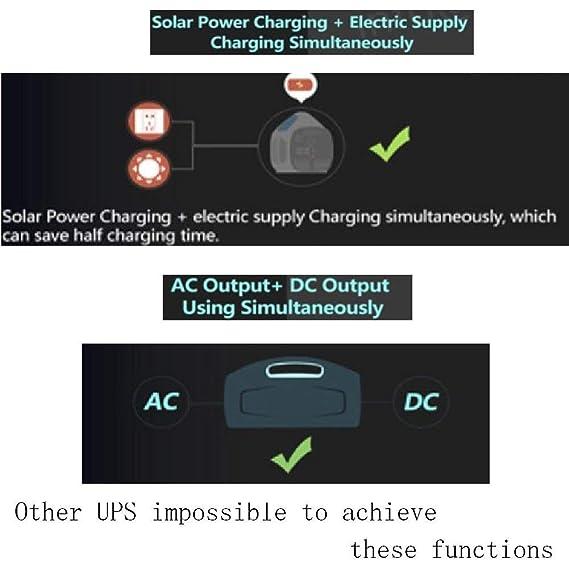 138000 Mah 800 W Pure Sine Wave UPS batería de reserva & Protector ...