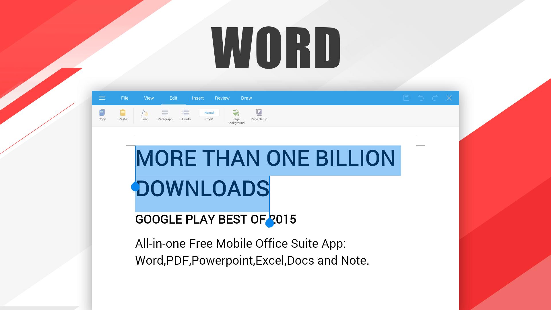 WPS Office - Word, Docs, PDF, Note, Slide & Sheet: Amazon.es ...