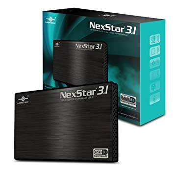 Vantec NST-270A31-BK Carcasa de disco duro/SSD 2.5